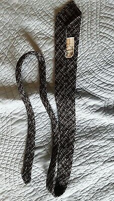 vintage 1940s 1950s mens tie donegal tweed swing rock and roll