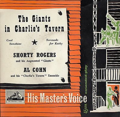 SHORTY ROGERS / AL COHN - THE GREATS IN CHARLIE'S TAVERN - 60's