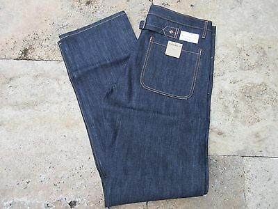 Quartermaster Naval Denim Jeans 1930's Years Style 6-Pocket Rockabilly US Army