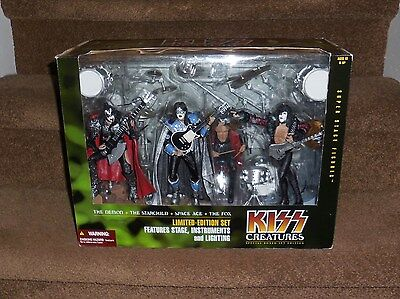 Kiss Creatures Figures Limited Edition Boxed Set New