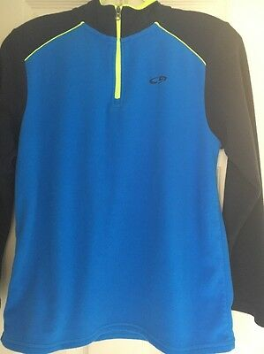 Champion Large Quarter Zip Fleece Pullover Size Youth Large