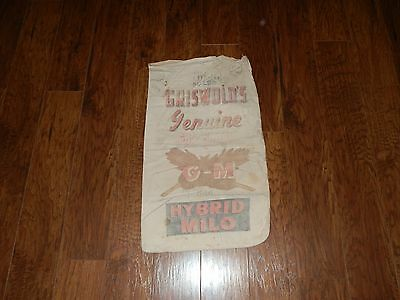 Griswold's Genuine Gro-Coated Hybrid Milo Cloth Seed/feed Sack