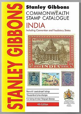 Book. SG India Catalogue inc Convention  and Feudatory States.  Current Edition