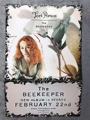 Tori Amos The Beekeeper RARE promo 12 x 12 fold-out poster flat '05