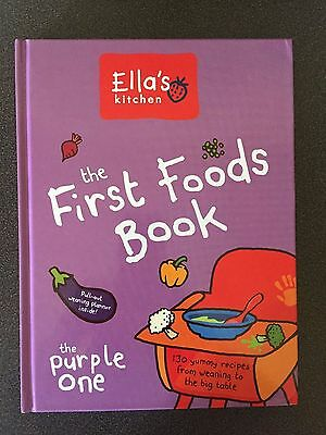'ellas Kitchen' First Foods, The Purple One Hardback Book • Rrp £14.99 • New