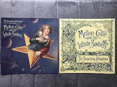 The Smashing Pumpkins Mellon Collie And The.. RARE promo 12 x 12 poster flat '95