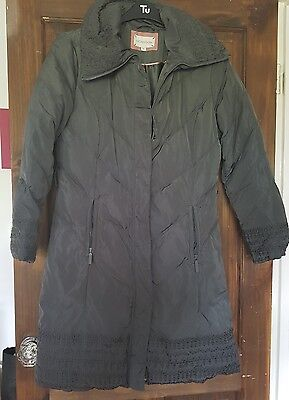 Grey Ladies Monsoon Coat size M