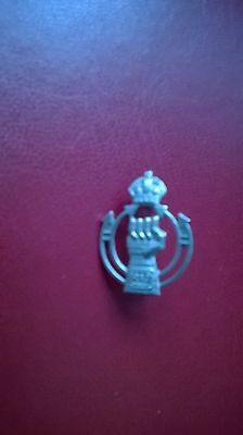 Military Cap Badge Royal Armoured Corps 1940's
