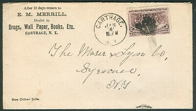1893 Merchant's Gargling Oil Liniment advertising cover