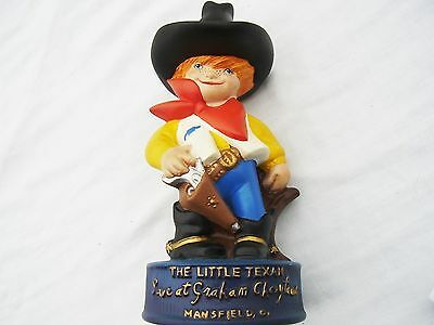 Vintage Antique Hull Pottery Texan Texas Ranger Cowboy Toy Police Cop Sheriff