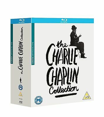 The Charlie Chaplin Collection Blu Ray Box Set *new And Sealed*