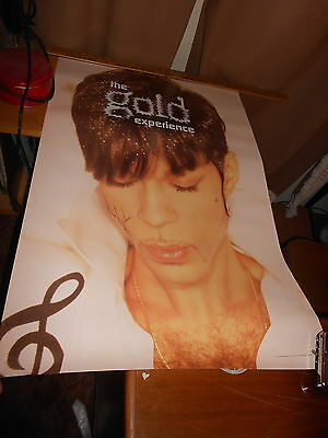 """Prince POSTER The Gold Experience 24"""" x 36"""" 1995 demo promotional only"""