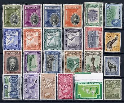 Commonwealth Small Mint Stamps Lot. Various Countries, Values etc. Cat £100+