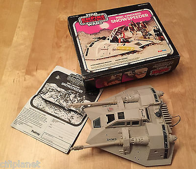 Armored Rebel Snowspeeder 1980 Star Wars 100% - Vintage - With Box