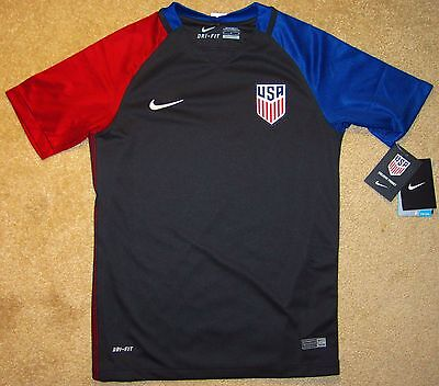 Youth XL Nike Team USA Soccer/Football Authentic Jersey NWT $75