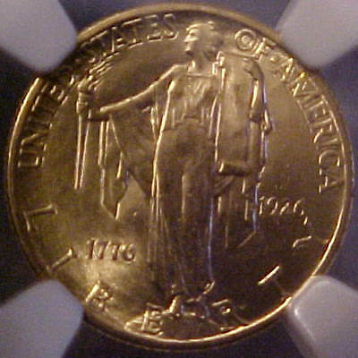 1926 Ngc Certified Ms64 Sesquicentennial $2-1/2 United States Gold American Coin