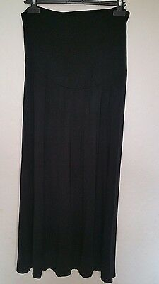 New Look Black Maternity Maxi Skirt, size Large