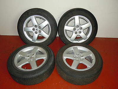 "2005 Peugeot 407 16"" Alloy Wheels With Tyres 205/60R16"