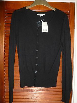 Brand New With Tag Peacocks Black Cardigan size 16