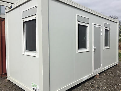 New Build 20ft x 8ft Portable Office