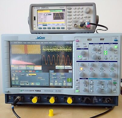 Teledyne LeCroy WavePro 7300A-XL 3GHz 4Ch 20GS/s High End Oscilloscope