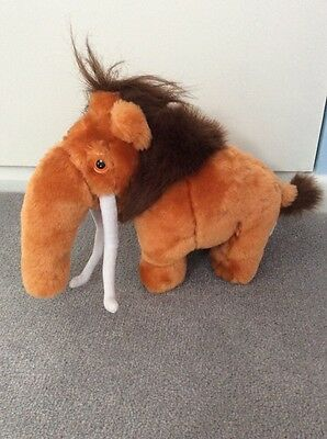 Manny the Mammoth Plush, Soft Toy. Ice Age.