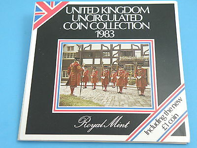 1983 Royal Mint - United Kingdom BRILLIANT UNCIRCULATED EIGHT - COIN SET