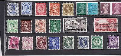Stamps of GB.