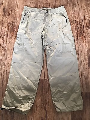 Men's M&S Trousers Blue Harbour Size 36 W 31 Leg Elasticated Waist New