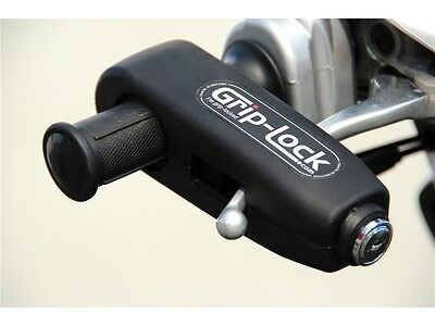 Grip-Lock IMMOBILISER THEFT PROTECTION - Black - Motorcycle Bike Scooter