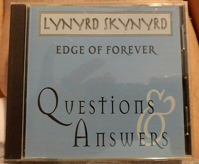 Lynyrd Skynyrd. Edge Of Forever. Questions And Answers Radio Interview Disc