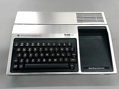 Texas Instruments TI-99/4a Classic Vintage Home Computer