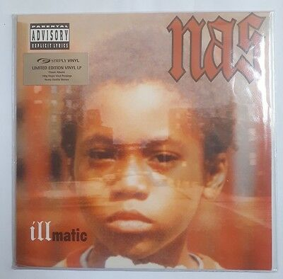 "NAS Illmatic 180g 12"" Vinyl Sealed Album US 1994 Rare Limited Edition LP"