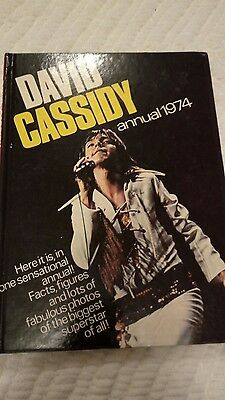 David Cassidy Annual 1974 ***Unclipped***