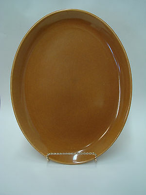 Russel Wright Iroquois Platter Ripe Apricot Casual China