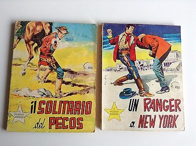 Lotto PICCOLO RANGER N 112 116 COLLANA COW BOY BONELLI no TEX ZAGOR