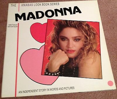 Madonna: The Anabas Look Book Series 1985 Rare