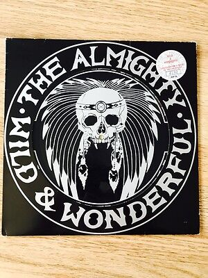 The Almighty - Wild & Wonderful Picture Disc Record Rare Numbered 4192