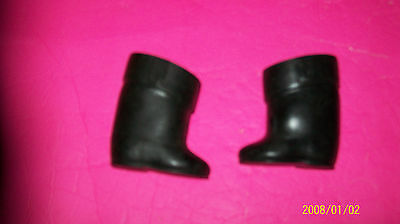CABBAGE PATCH KIDS DOLL shoes black boots