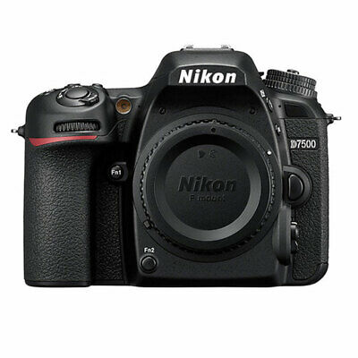 Nikon D7500 20.9MP DX-Format CMOS Sensor Digital SLR Camera Body