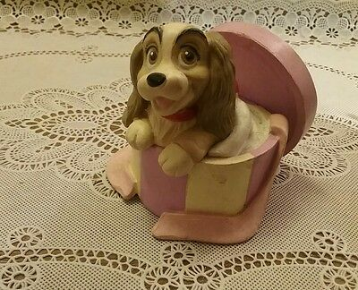 Lady in Hat Box Lady & The Tramp Disney Collection Classic