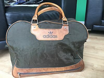 RARE Peter Black Keighley Retro Vintage 70s Adidas Sports Holdall Overnight Bag