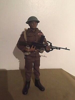 Vintage Action Man/GI Joe Reissue in WW2 British Infantry outfit - Commonwealth
