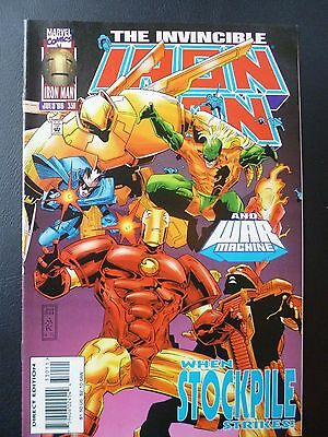 Marvel Comics Iron Man Vol 1 Issue 330 1996
