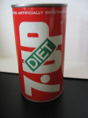 Diet  7Up Soda Can