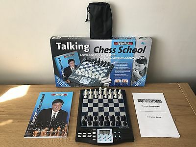 Millennium Talking Chess School with World Champion Anatoly Karpov