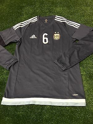 Argentina Adizero Away Long Sleeves Soccer Jersey Shirt Authentic Argentina 2017