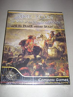 Nine Years: The War of the Grand Alliance 1688-1697 (New)