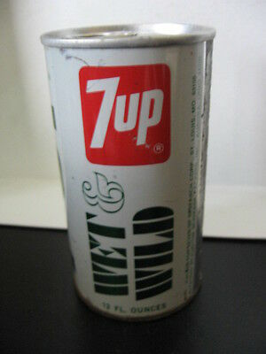 7Up Soda Can Wet & Wild Test