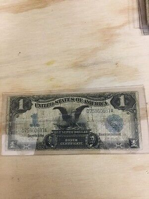 Lot of Six United States One Dollar Silver Certificate Notes:1899-1957